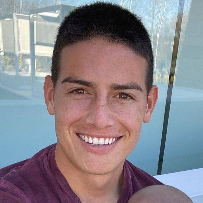 james rodriguez buzz cut haircut