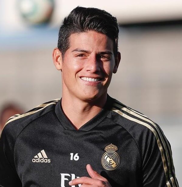 james rodriguez hair 2018