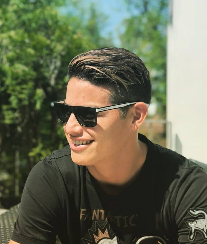 james rodriguez hair