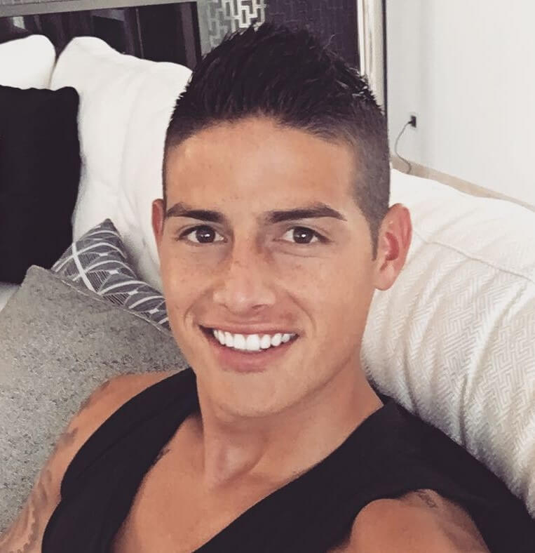 james rodriguez soccer hairstyle