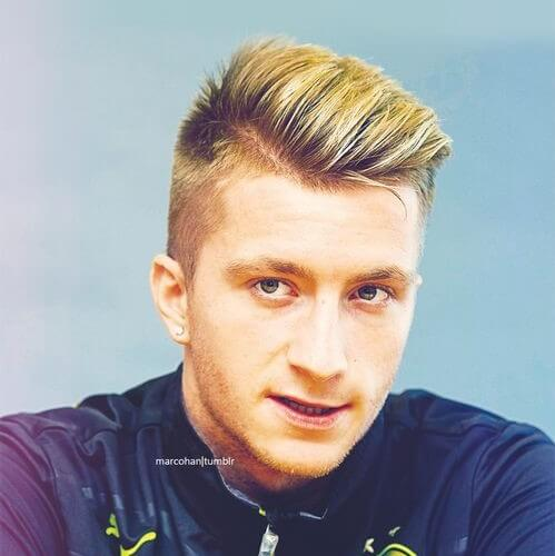 marco reus high textured comb short pomp