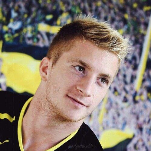 marco reus short spiky hair