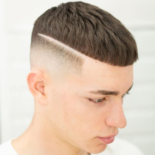 mexican boy haircuts side part bald fade fringe haircut latino