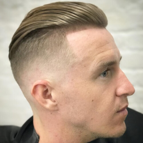 mexican haircut short comb slicked back haircut
