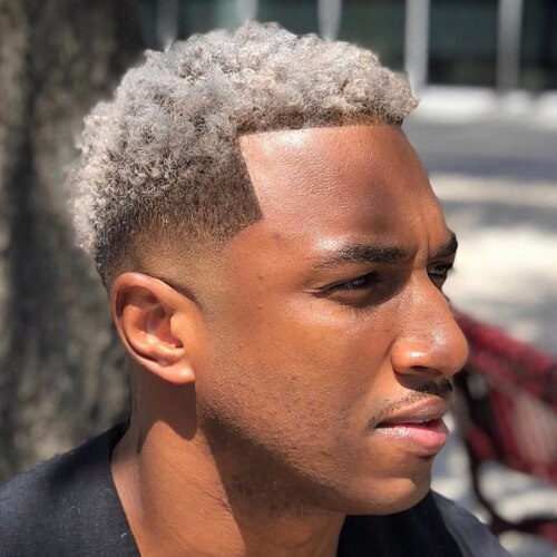 mexican short curly shaped up burst fade hair