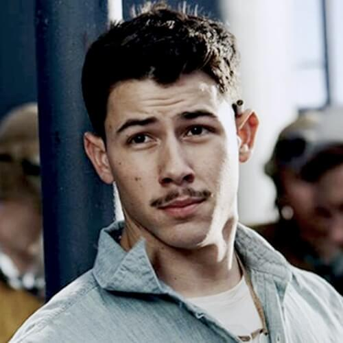 nick jonas hair