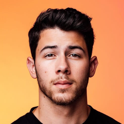 nick jonas haircut new
