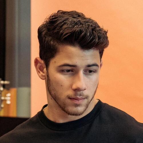 nick jonas hairstyle