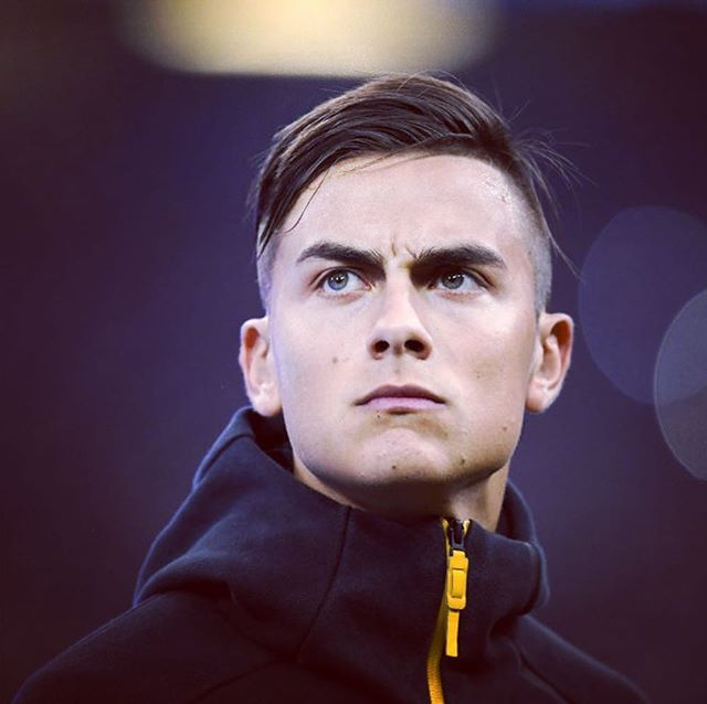 paulo dybala soccer player haircut