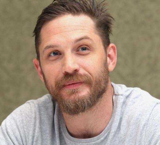 tom hardy beard style
